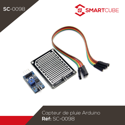 capteur de pluie pour arduino smart cube. Black Bedroom Furniture Sets. Home Design Ideas